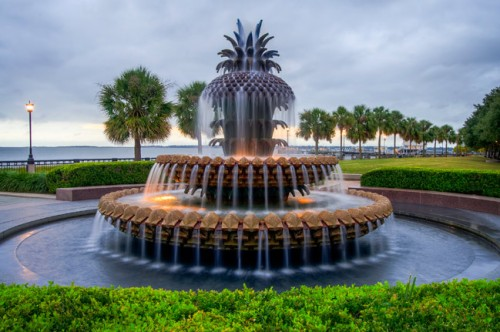 THE famous Pineapple Fountain found in Waterfront Parlk